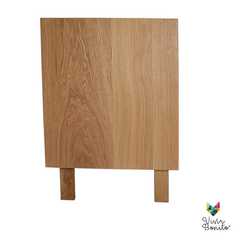 Tocador madera natural sabor 1 vivir bonito muebles de - Muebles de madera natural ...