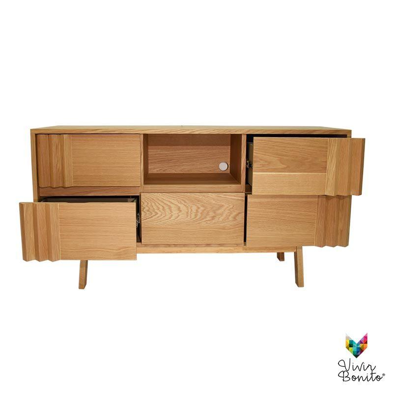 mueble madera cairo claro
