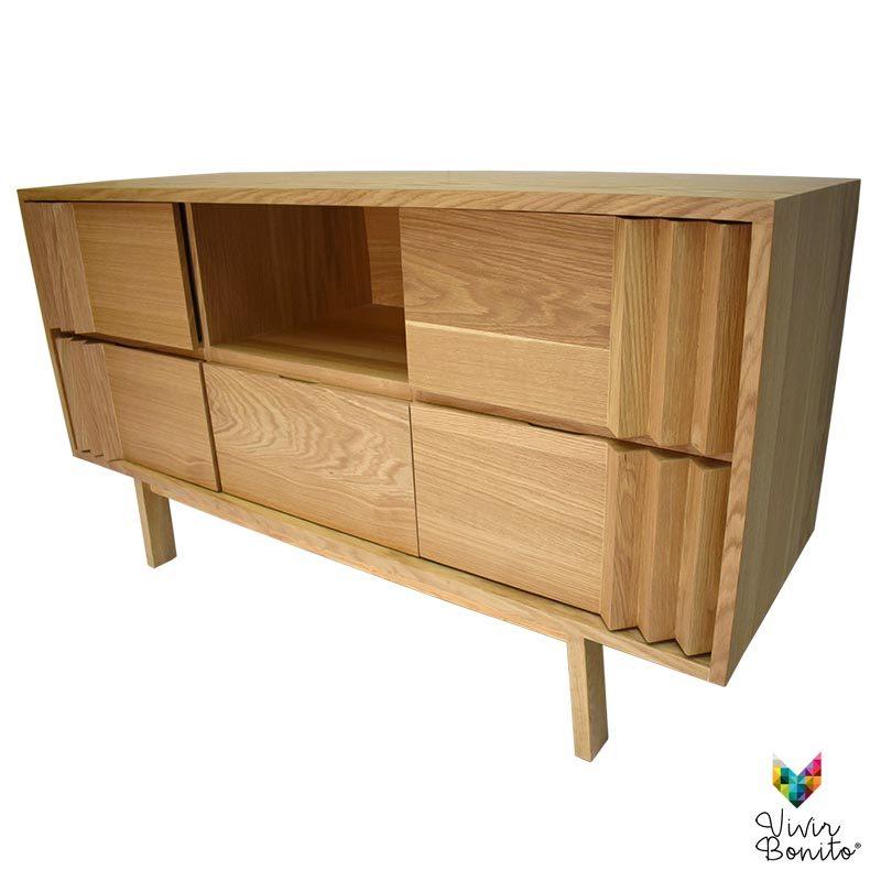 tocador mueble madera cairo claronatural sabor