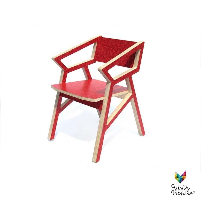 Sillas cnc 16 lig vivir bonito sillas y salas de dise o for Sillas madera colores