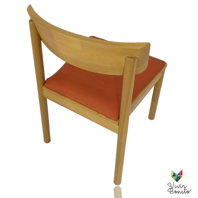 Silla madera diseño Tuk