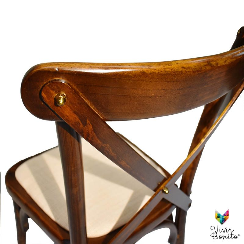 crossback Madera Vintage Nogal 5
