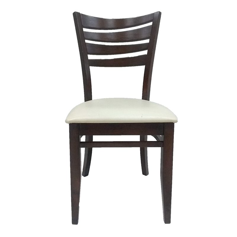 Silla colyn madera asiento vinil