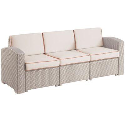 sillón terraza valet triple