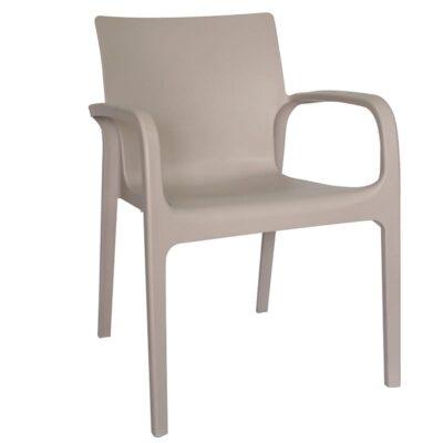 silla jardín con brazos