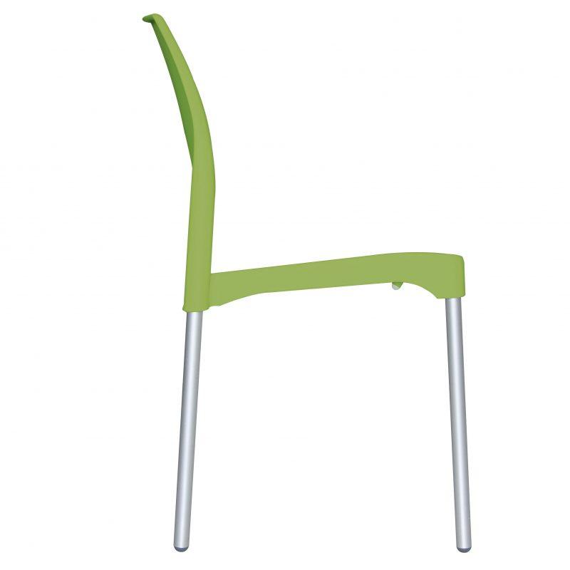 silla aguilar verde plastico