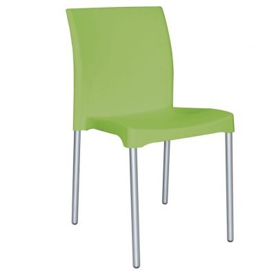 sillas aguilar verde apilable