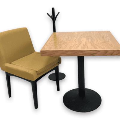 Mesas de madera encino natural