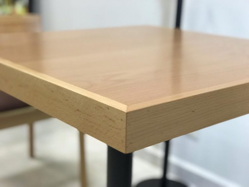 mesas para restaurantes haya natural cantos madera