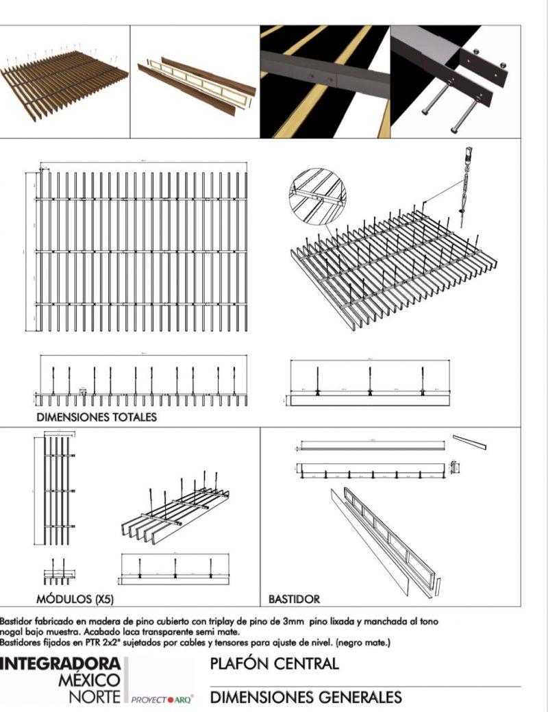 plafones para restaurantes solucion ingenieria