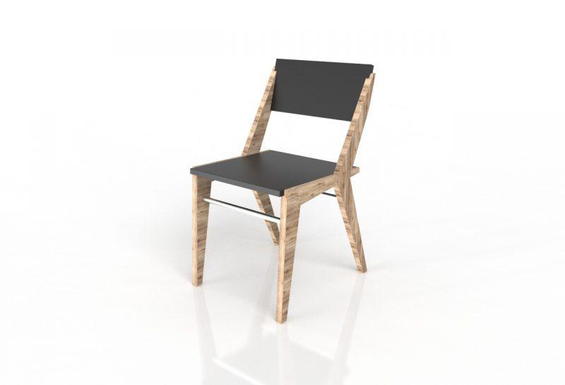 silla diseñador industrial para tu restaurante cnc