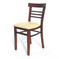 sillas para restaurante de madera natural pino haya encino color a escoger con vinyl uso rudo para cafeteria y bar