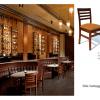sillas para restaurantes de madera de pino haya encino carpinteria interiorismo para cafeteria y bar