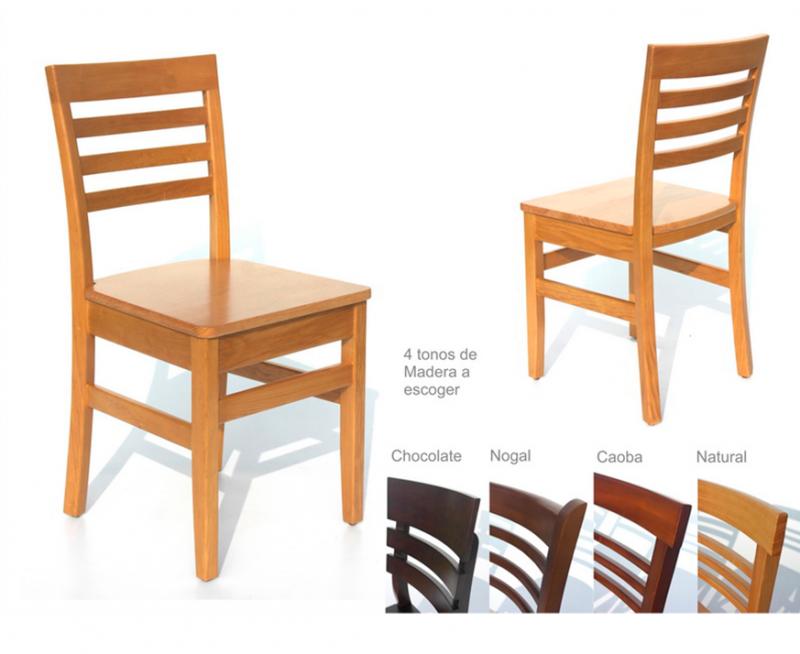sillas para restaurantes de madera de pino haya encino los colores se pueden elegir para cafeteria y bar