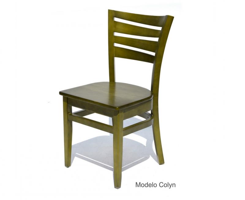 sillas para restaurantes de madera haya pino encino color a elegir para cafeterias y bares