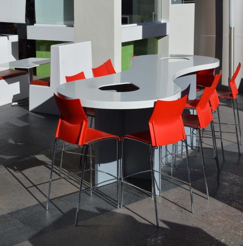 Mesa grapa corian   Muebles para Restaurantes