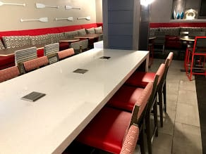 mesas para comedores empresa barra usos multiples