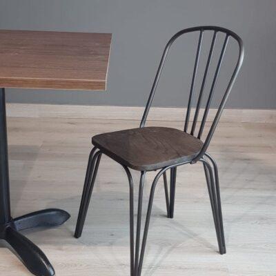 mesas para restaurante madera uso rudo pintura de horno diseño personalizado