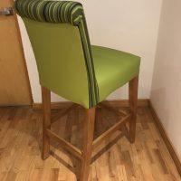 sillas para hoteles restaurantes banco nogal easy dekor bares alta