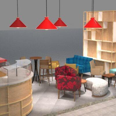 Mobiliario para comedor industrial