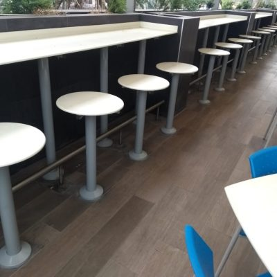 Mantenimiento mesas para comedor industrial