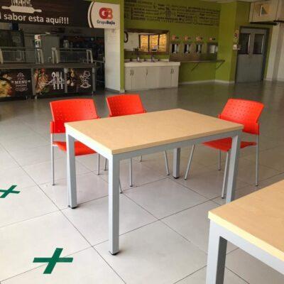mesas para comedor empresa