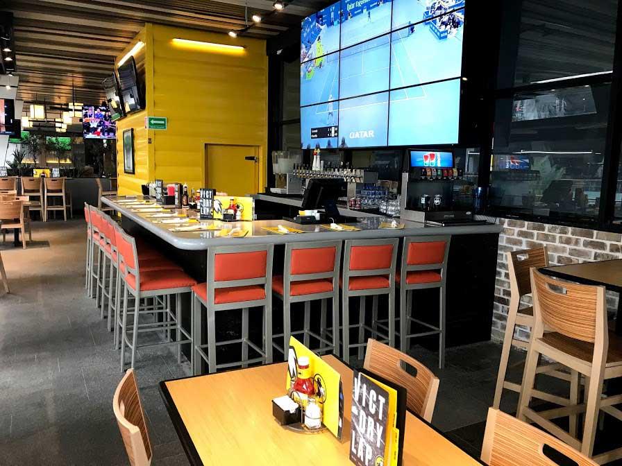 Optimizar la inversión, mesas para restaurante