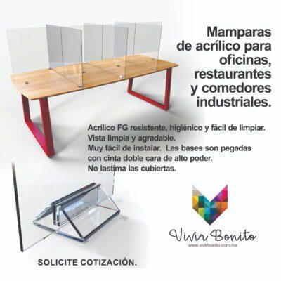 Mesas para comedores industriales