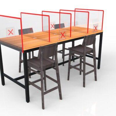 Mesas para cafetería