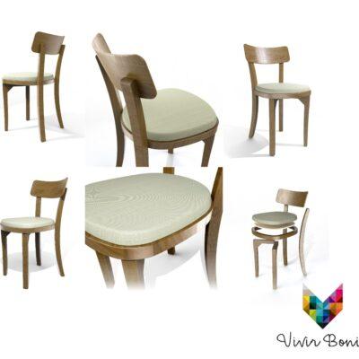 diseños de silla de madera