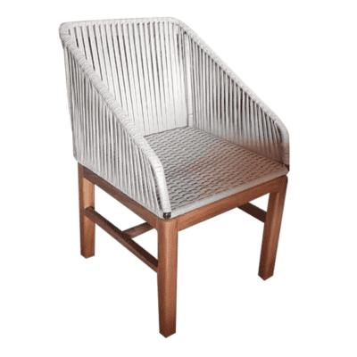 sillas de madera para terraza